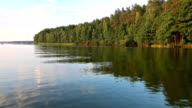 Boat trip on lake video