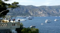 Boats and yachts in Saint-Jean-Cap-Ferrat, French Riviera, France video