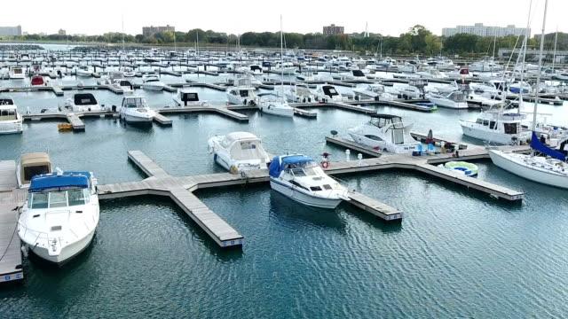 Boats Flyover video