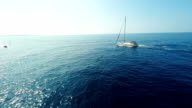 AERIAL Boats In The Sea video