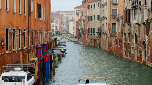 Boats on the Grand Canal of Venice, Italy. video