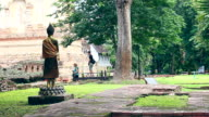 BodhiTree at Wat Chet Yot Chiangmai Thailand video