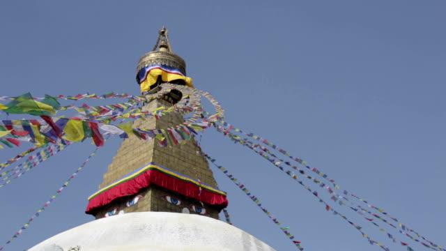 Bodhnath Stupa Buddhist Temple, Kathmandu, Nepal video