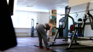 Bodyfitness workout. Deadlift video