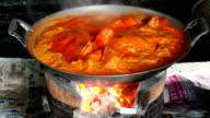 Boiled pork video