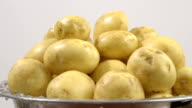 Boiled potatoes video