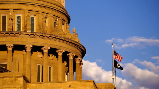 Boise Idaho Capital City Downtown Capitol Building Legislative Center video