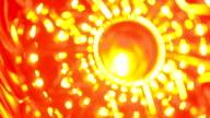 bokeh abstract orange yellow video