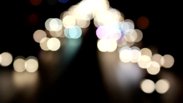 Bokeh background video