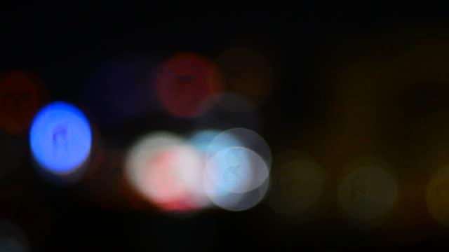 Bokeh background video