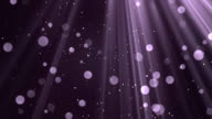 Bokeh Light Rays Purple video