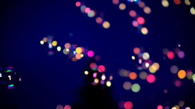 Bokeh of Soap Bubble video