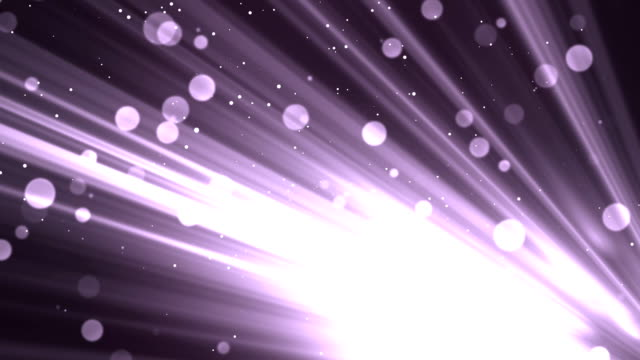 Bokeh Rays Glitters Purple video