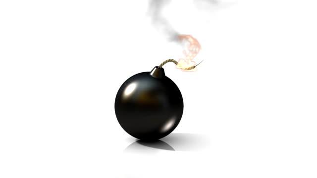 Bomb explosion video