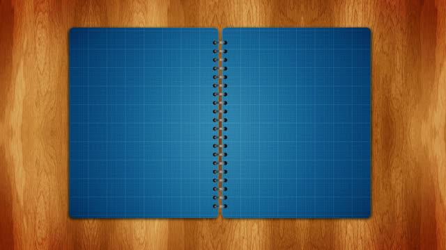 Book, Open / Close, Loop video