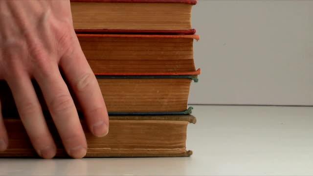 Book Stack (HD,NTSC) video