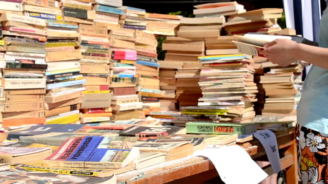 Book Stacks for Sale video