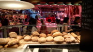 Boqueria market in Barcelona video