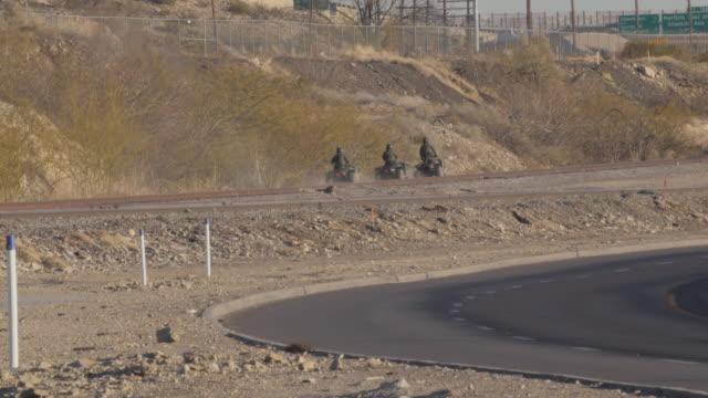 Border Patrol ATV video