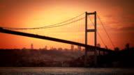 Bosphorus Bridge. video