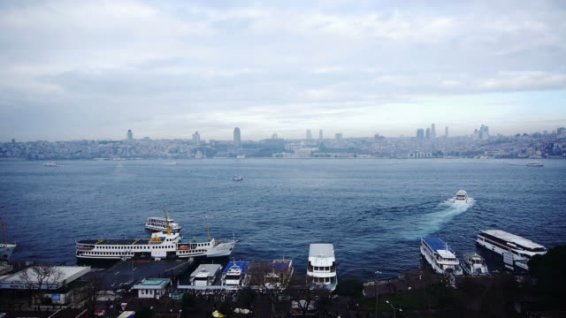 Bosphorus Timelapse video