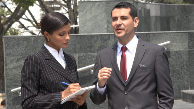 Boss Dictates Ideas To Secretary video