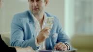 boss giving salary video