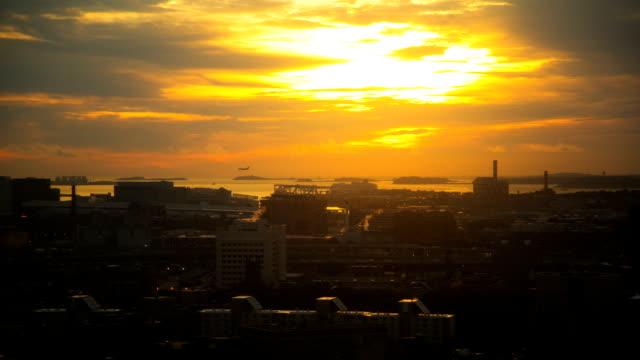 Boston Harbor Timelapse video