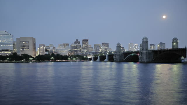 Boston, USA, bridge video