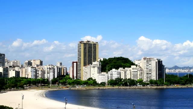 Botafogo Beach in Rio de Janeiro video