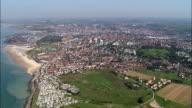 Boulogne Harbour  - Aerial View - Nord-Pas-de-Calais, France video