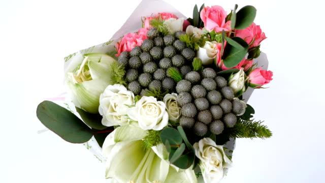 Bouquet for a flower shop video