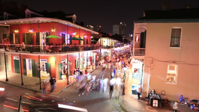 Bourbon street, New Orleans video