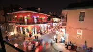 Bourbon street, New Orleans video