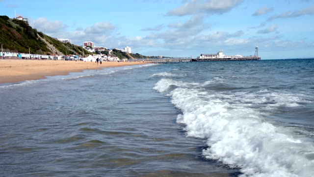 Bournemouth Beach, Sea and Pier video