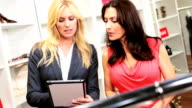 Boutique Owner Showing Online Collection video