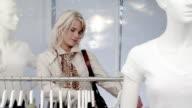 Boutique Shopping Woman video