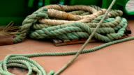 Bow Hull Rope Rigging video