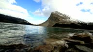 Bow lake, Banff National Park video