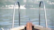 Bow of a boat video