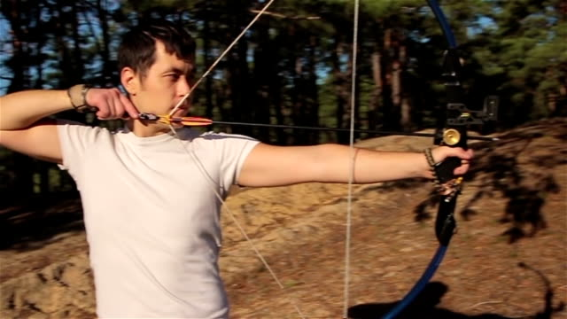 Bow Shooting Man video
