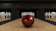 Bowling strike video