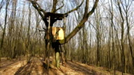 Box Hunting Stand In The Forest video