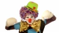 boxing clown video