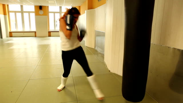 Boxing girl video