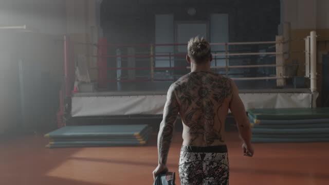 Boxing gym training video