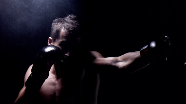 Boxing in the shadow. Struggling with weaknesses video