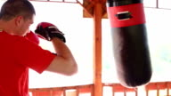 Boxing training losing weight video