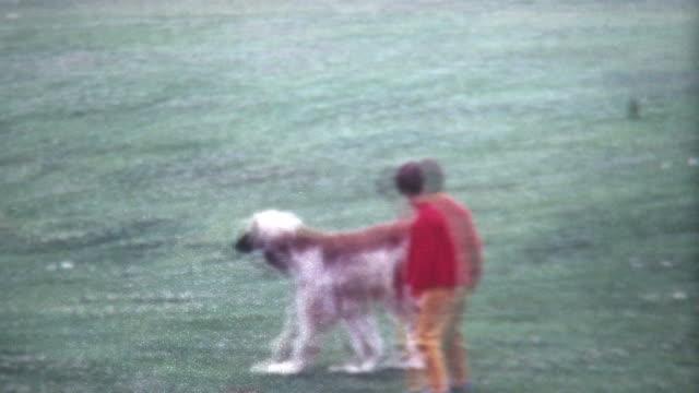 Boy and Hound 1960's video