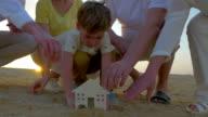 Boy Building a House video